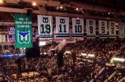 a ton of banners to leave behind