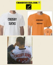 Crosby sucks t-shirts