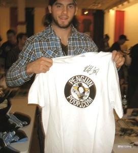 Letang PenguinPoop t-shirt
