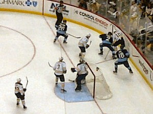 Penguins vs. Sabres Oct 2011