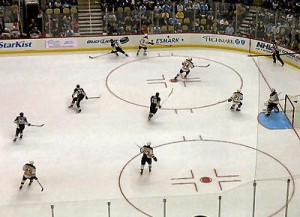 Penguins vs Bruins