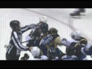 Video: Sobotka Sucker Punches Sullivan (Blues & Penguins)