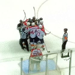 Penguin vs Panthers Mixing it Up