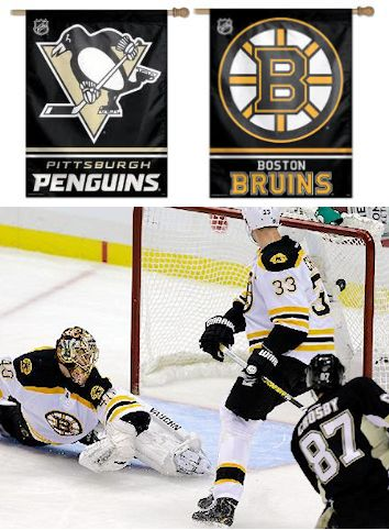 Penguins vs. Bruins