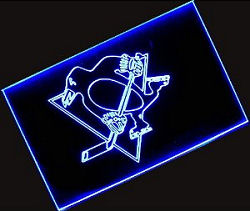 Nhl Pittsburgh Penguins Neon Light Sign 62 99perfect Gift For The Man Cave